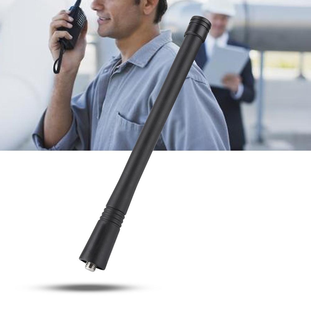 Abs ep450 vhf 136-174 mhz 5.9 polegada antena mx tipo conector apto para motorola rádio walkie talkie antena