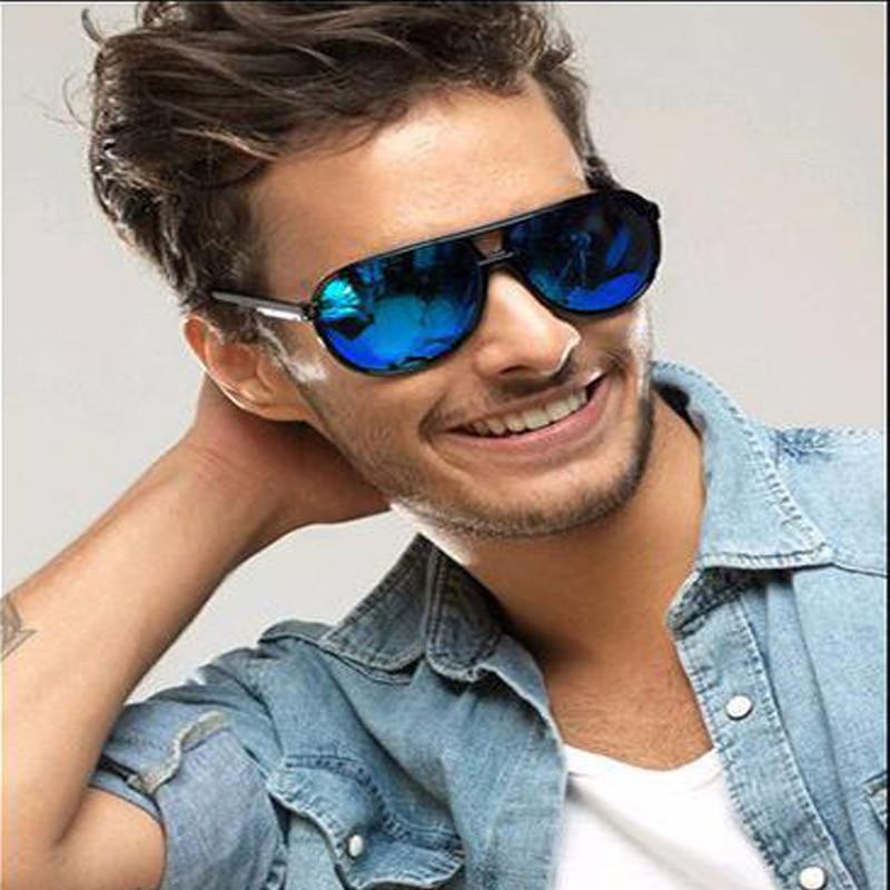 Взрывозащищенные солнцезащитные очки с УФ-защитой, зеркальные жабы, уличные очки с большой оправой для мужчин и женщин, Защитные солнцезащи...