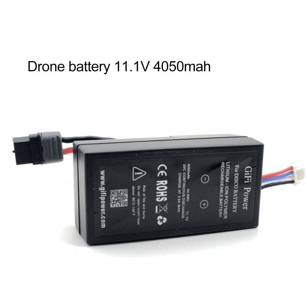 Für Papagei Disco Drone Batterie 11,1 V 4050Mah Dauerhafte Arbeitszeit Große Speicher Kapazität Batterie 1 Pcs