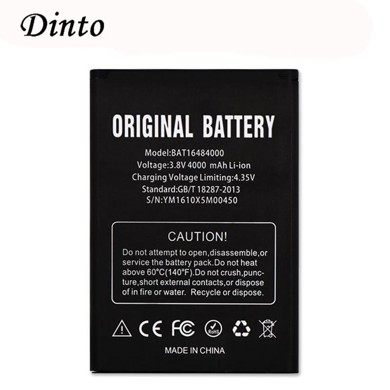 Dinto высокое качество BAT16484000 4000mAh 3,8 V замена сотового телефона литий-ионная батарея для DOOGEE X5 MAX Pro мобильного телефона