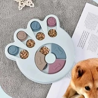 dog puzzle toys slow feeder interactive increase puppy iq food dispenser slowly eating nonslip bowl pet cat dogs training game