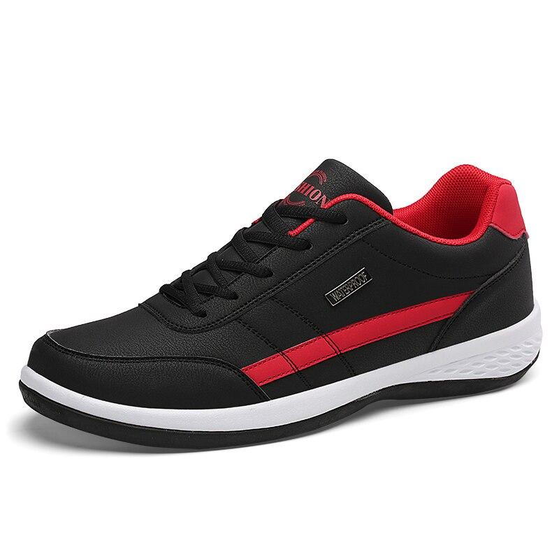 Men's Shoes Fashion Sneakers Men Casual Shoes Breathable Mens Vulcanize Shoes Man Spring PU Leather Shoes Men Chaussure Homme