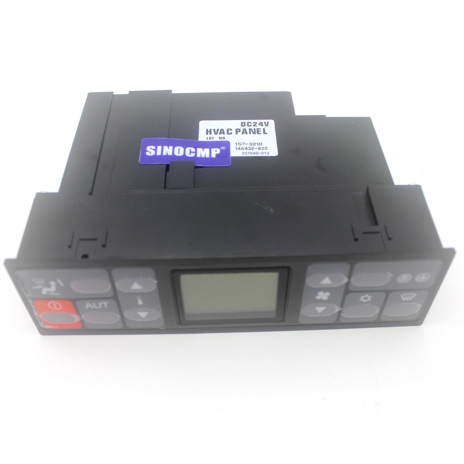 SINOCMP AC التحكم لوحة 157-3210 146432-822 للحفارات 320C 325C 330C E320C E325C E330