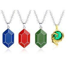 Jeu la légende de Zelda pièce Peso Cosplay Costume collier accessoires barre physique alliage pendentif cadeau accessoires