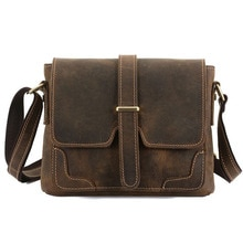 Men Briefcases Leather Bags Men  Handbags Office Bags For Men's Bag Leather Laptop Bag Business shoulder bag in large capacity