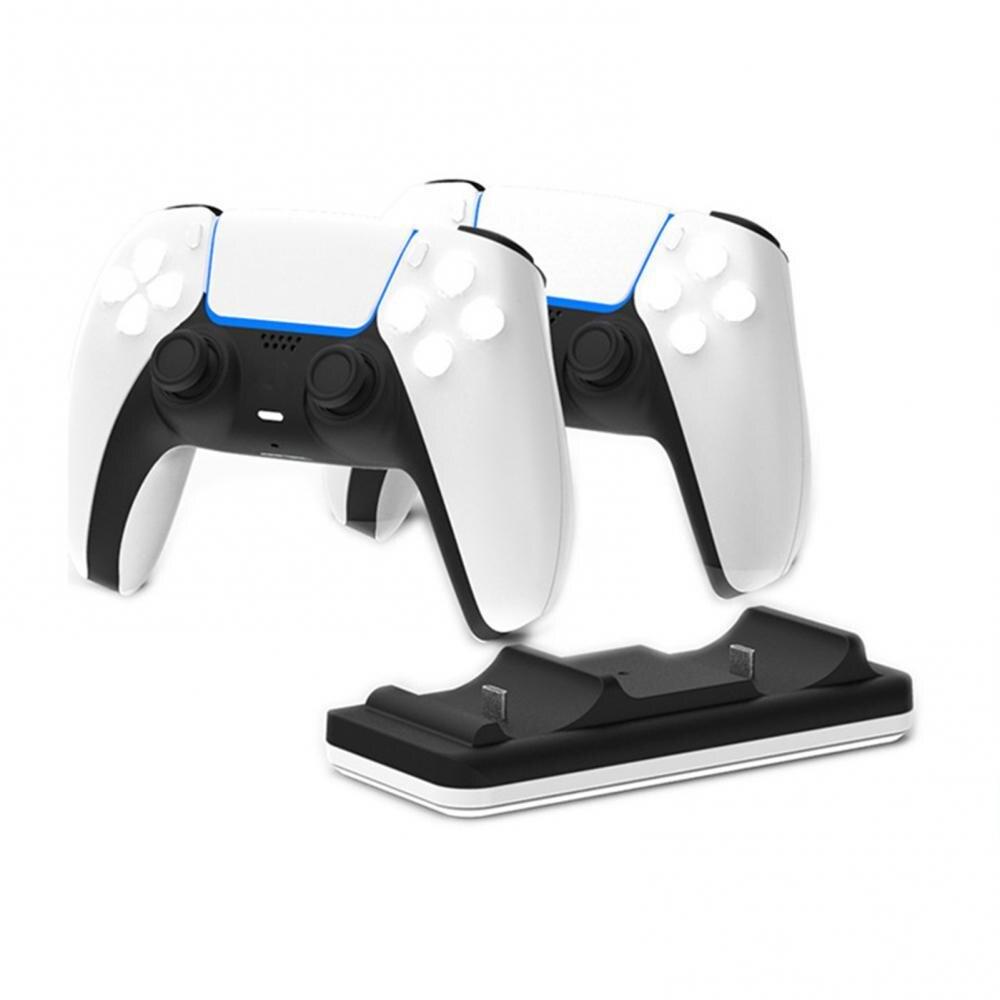 Зарядное устройство для геймпада с двумя портами типа C, игровой контроллер, игровой джойстик, зарядная док-станция для PS5