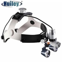 2 5x3 5x glasses dental magnifier surgical dental loupes with headlight surgery operation magnifying glass