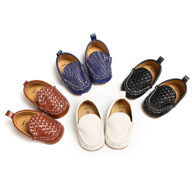 2021 New Classic Brand Soft Leather Baby Shoes Moccasins Fashion Baby Boys Girls Shoes Casual Shoes