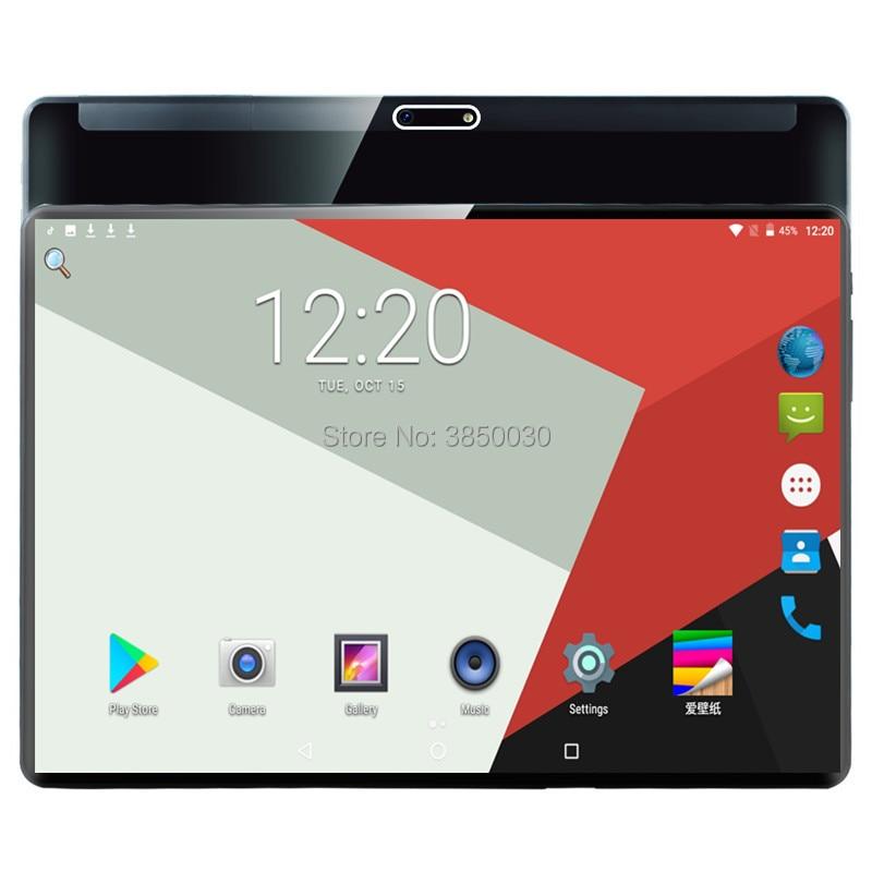 Nuevo Android 9,0 OS 10 pulgadas tableta Deca Core 6GB RAM 64GB ROM 10 núcleos 1920*1200 IPS pantalla GPS tabletas 10,1 regalo
