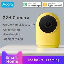Aqara G2H Smart camera 1080P webcam IP support Apple HomeKit xiaomi mi Home App Hub IR night-vision Hub function AI detection