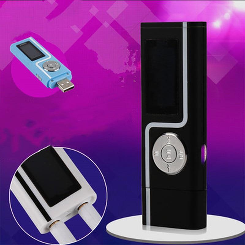 USB MP3 Musik Player Portable LCD Screen Digital Media Sport Compact Mp3 Player Unterstützung Micro SD TF Karte Stick Walkman lettore