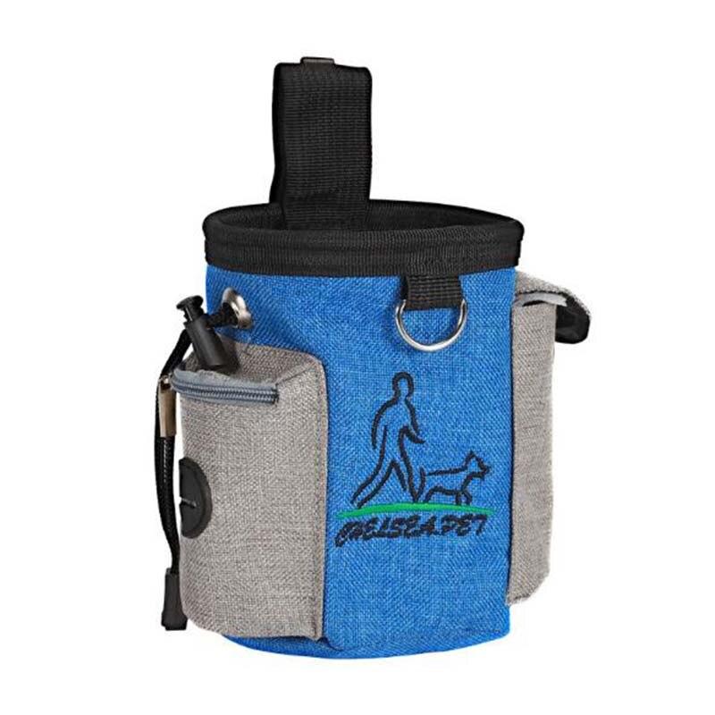 Sac de taille de formation pour animaux de compagnie portable en plein air formation pour animaux de compagnie sac de collation spécial sac de nourriture pour chien 1 pièces