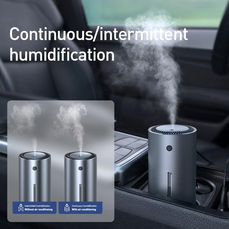 Baseus 300 مللي الهواء المرطب سيارة ناشر رائحة للمنزل مكتب سيارة لتنقية الهواء نانو رذاذ كتم الهواء النظيف الرعاية
