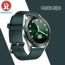 Fashion Smart Watch Case Alloy Smart men's Watch Men Women Heart Rate Fitness Bracelet measurement I
