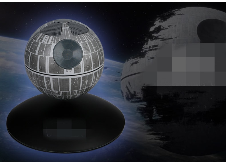 ace-littles dropshipping Death Star Maglev Bluetooth wireless speaker mini bass, magnetic levitation toy Bluetooth speaker enlarge