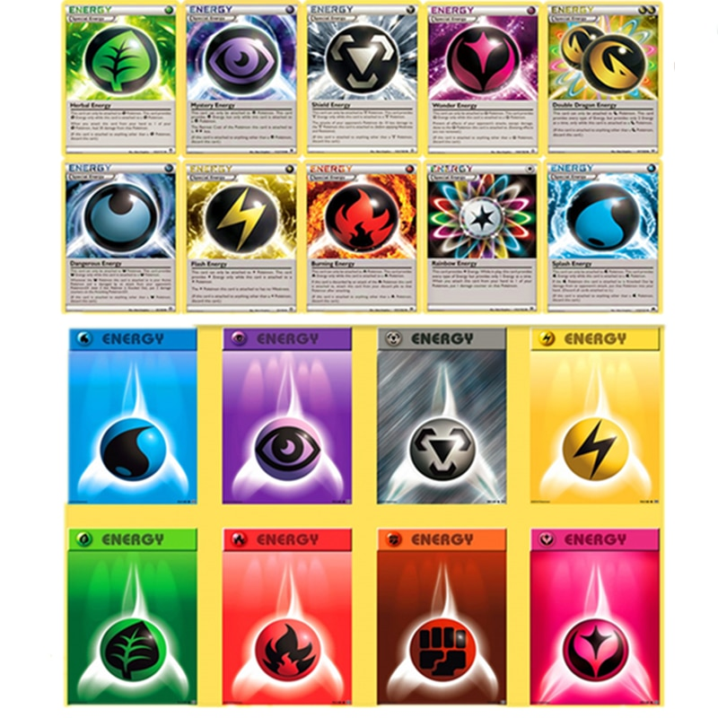 pokemon team up game card pokemon english flash card battle card child game cards english flash cards educational toys Pokemon Cards Game ENERGY Card Battle TAKARA TOMY Collection Shining English Trading Card Booster Box Kids Toys Children Gift