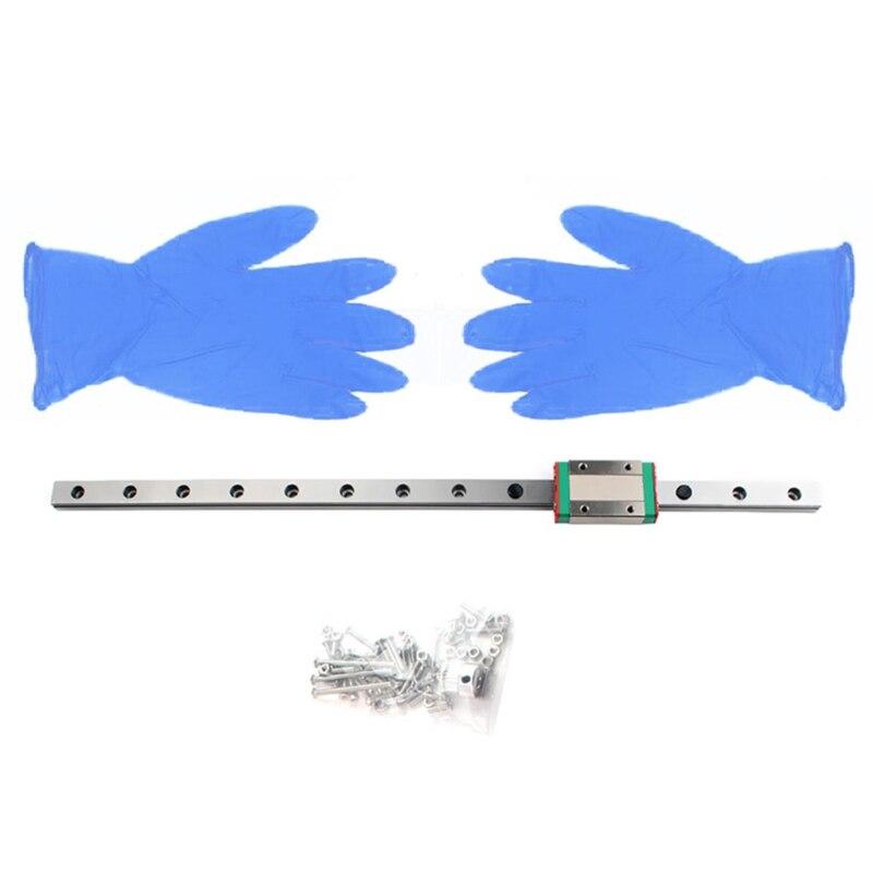 طابعة ثلاثية الأبعاد ترقية X A-x-i-s دليل السكك الحديدية الخطية متوافقة ل Prusa i3 mk3s سهلة ومريحة للتركيب