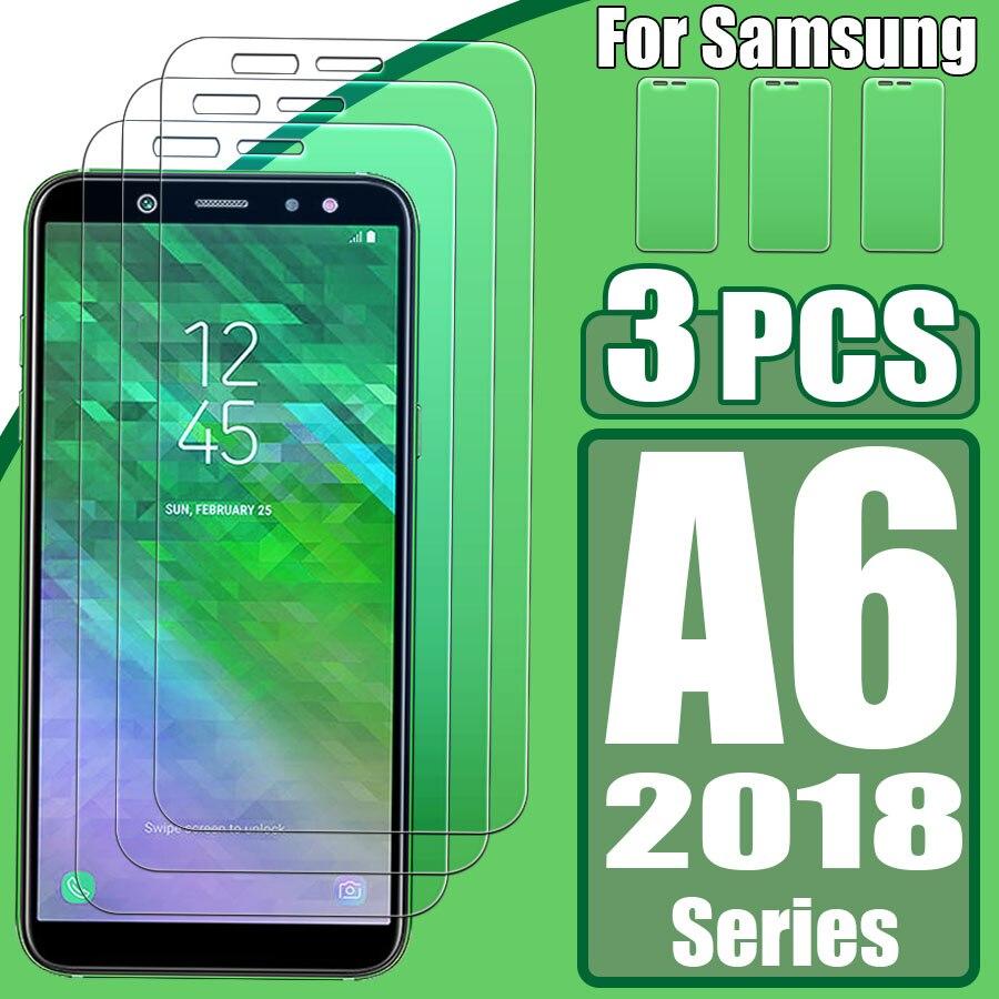 1 a 3 uds. Para Samsung galaxy a 6 plus 2018 vidrio a 6 plus protector de pantalla 6a a6plus 6aplus protector Vidrio Templado