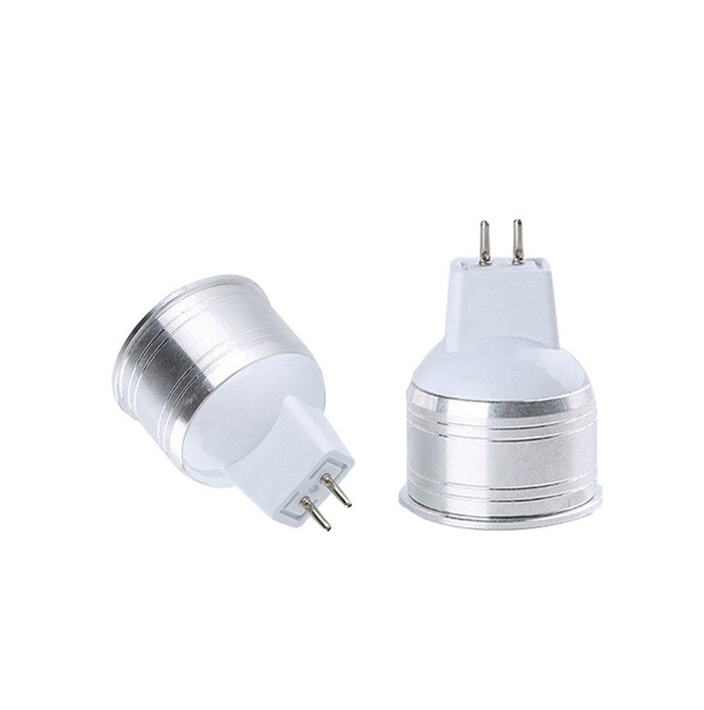 Bombilla LED mazorca MR11 GU10 E27 MR16 12V 220V 35mm diámetro 6W 9W bombillas LED de aluminio blanco frío cálido
