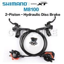 Shimano Deore XT M8100 frein 2 pistons M8120 frein 4 pistons frein à disque VTT frein à disque hydraulique vtt
