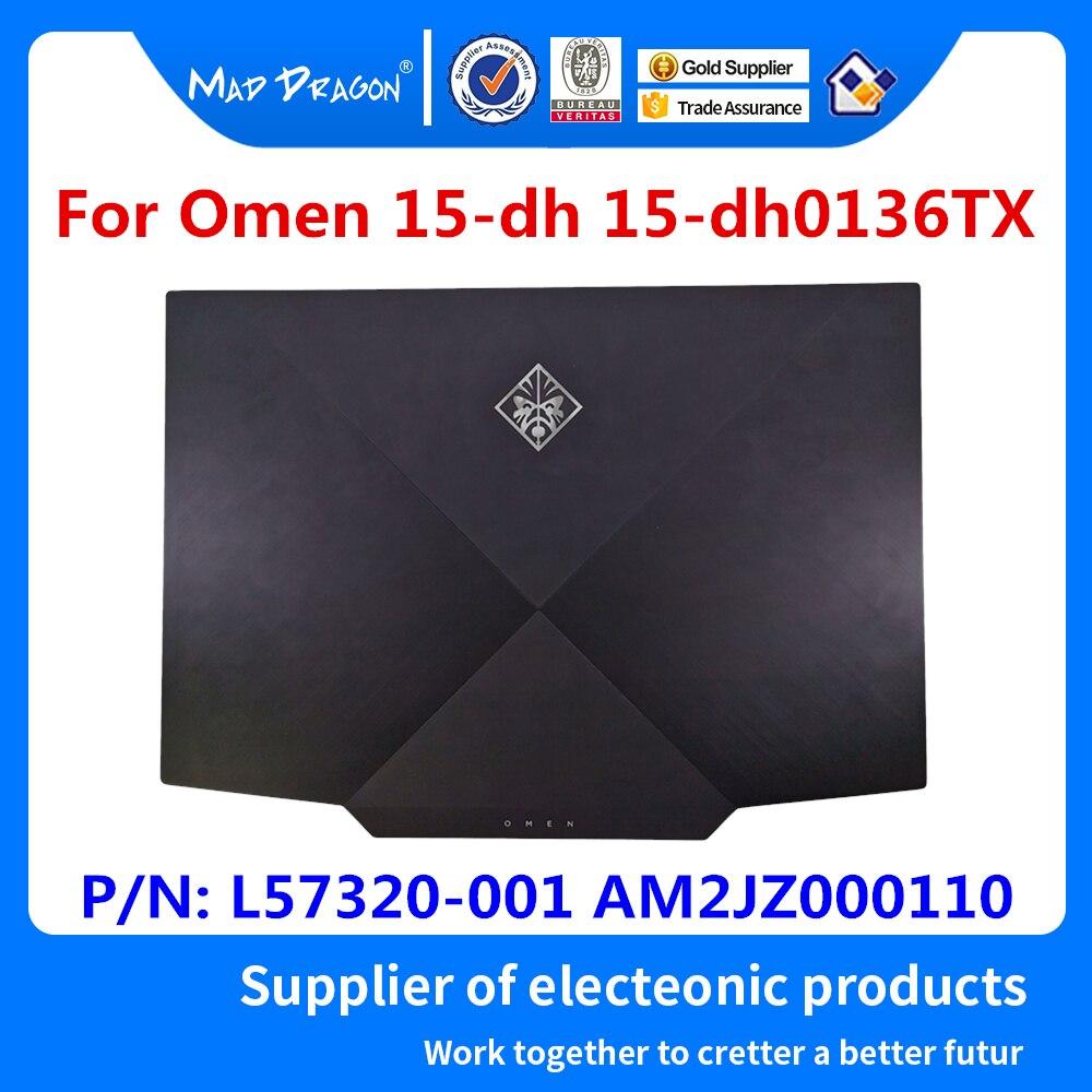 Laptop nuevo original LCD tapa trasera cubierta negra A carcasa para HP Omen 15-dh 15-dh0136TX 2019 L57320-001 AM2JZ000110