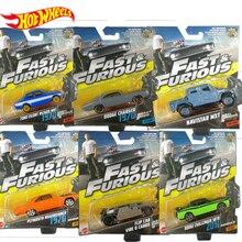 Hakiki sıcak tekerlekler hızlı ve öfkeli film modeli moda serin alaşım Diecast araç tek paket dodge şarj cihazı oyuncak çocuklar için FCF35