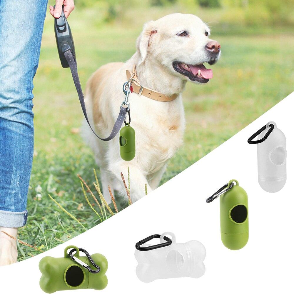 Bolsa de almacenamiento portátil NICEYARD para caca de perro o mascotas, dispensadores de bolsa de basura, bolsas para excrementos de mascotas, bolsa de basura para exterior