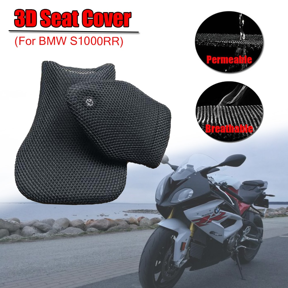 For BMW S1000RR S1000 RR S 1000RR 3D Mesh Seat Cover Cushion Guard Waterproof Insulation Breathable Net Motorcycle Accessories