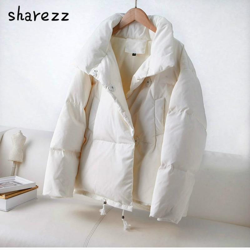 2020 Otoño Invierno mujer Parka moda mujer chaqueta invierno abrigo femenino Stand Down chaqueta caliente Casual prendas de vestir abrigo para mujeres