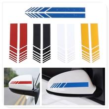 2Pcs Car Styling Sticker Rearview Mirror Side Decal forToyota V Hilux Land Cruiser Avanza Carina Celica Corona