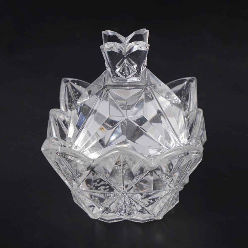 Caja de Cristal de silicona transparente, moldes de resina epoxi para joyería, artesanía decorativa, bricolaje, caja de almacenamiento de diamantes de pirámide, novedad