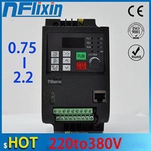 requency inverter 220v to 380v 400V 2.2kw VFD Variable Frequency inverter control Variable Frequency Drive VFD 3 phase output