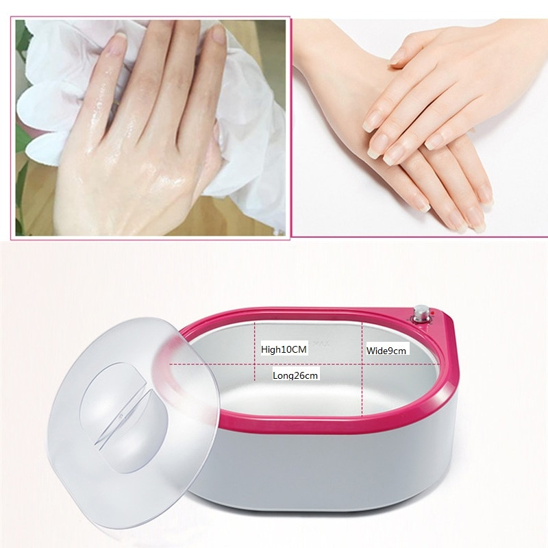5L Wax Warmer Paraffin Heater Machine With Heated Electrical Booties and Gloves for Continuous Hydrating Heat Therapy enlarge