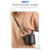 Etui Portable en cuir PU  sac de rangement  boite de transport pour HomePod Mini haut-parleur intelligent B85B