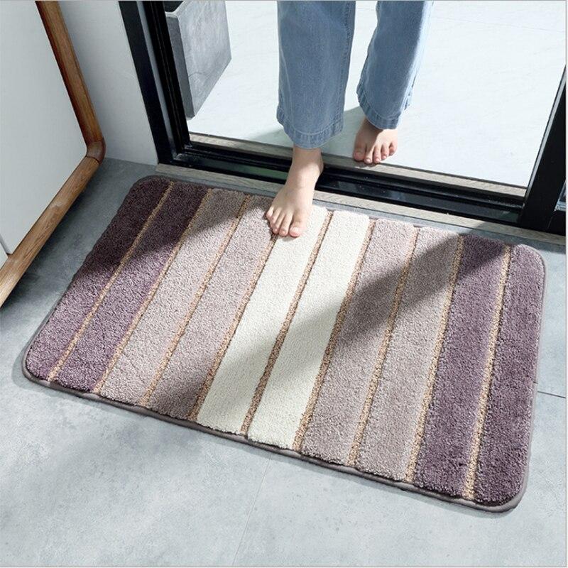 بسيطة مخطط الطابق ماتس غرفة نوم ممسحة الأحذية عند الباب الحمام المطبخ السجاد عدم الانزلاق ماصة الطابق حصير حماية جديد