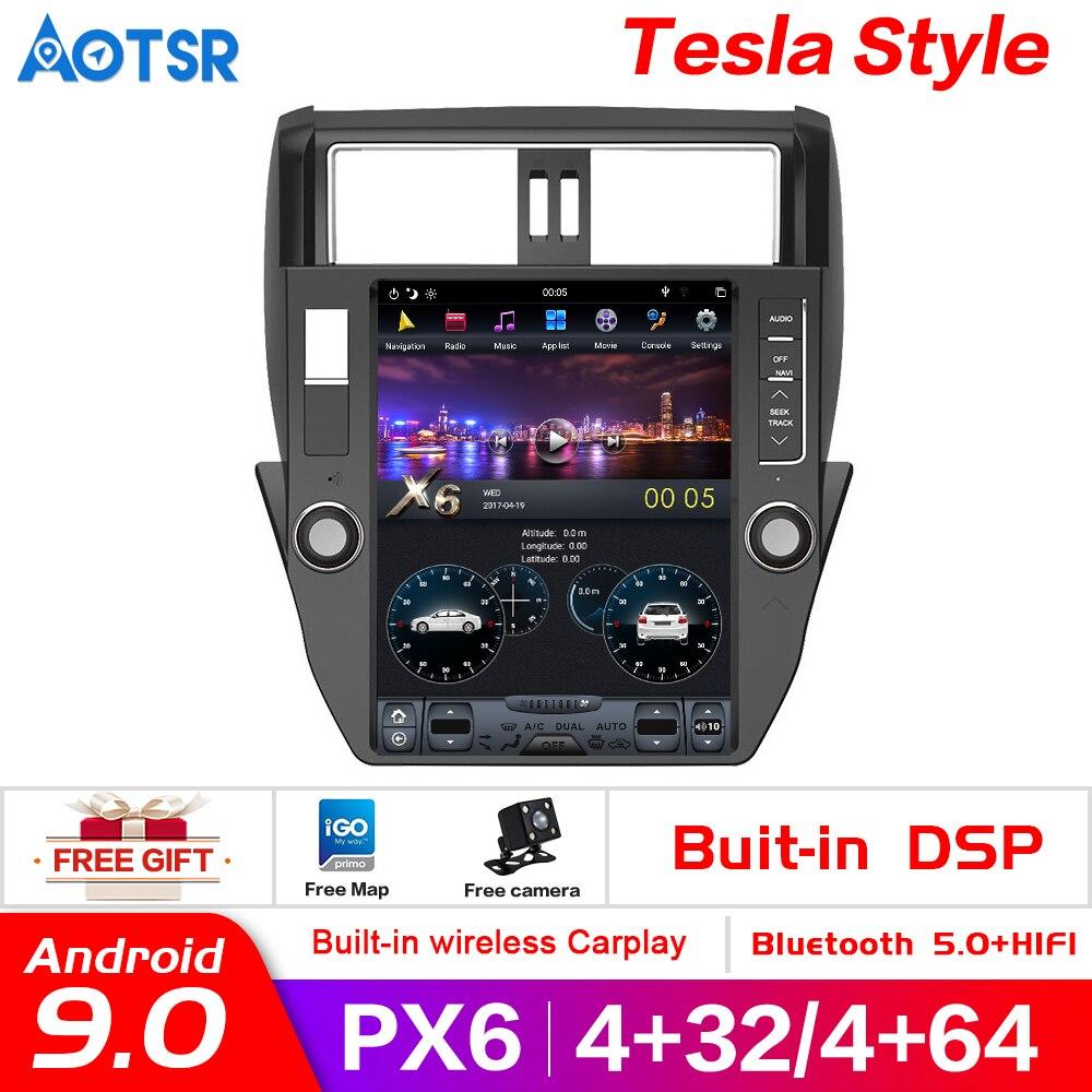 Reproductor multimedia con pantalla Vertical para coche, dispositivo con Android 9,0, estilo...