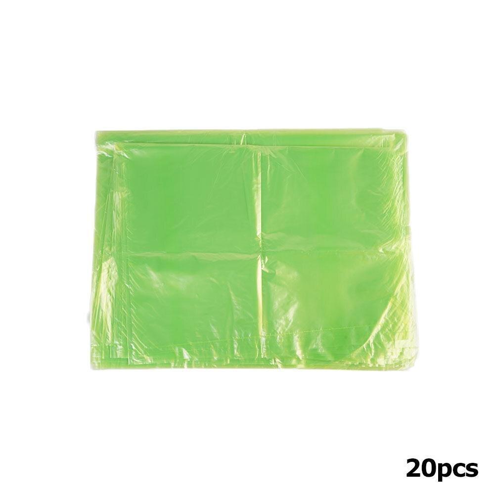 20 unids/bolsa de almacenamiento verde bolsas de Pvc alimentos frescos cocina Gadget Greenbags suministro de productos S3U3