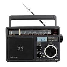 Retekess TR618 FM/AM/SW 3 Band Portable Radio with USB TF SD Player Big Speakers High Volume Radio US Plug