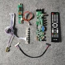 30pin LVDS 1024*768 signal numérique DVB Fit QD15XL01/QD15XL04/QD15XL06/QD15XL09 panneau LCD carte de commande kit 1CCFL USB HDMI VGA AV