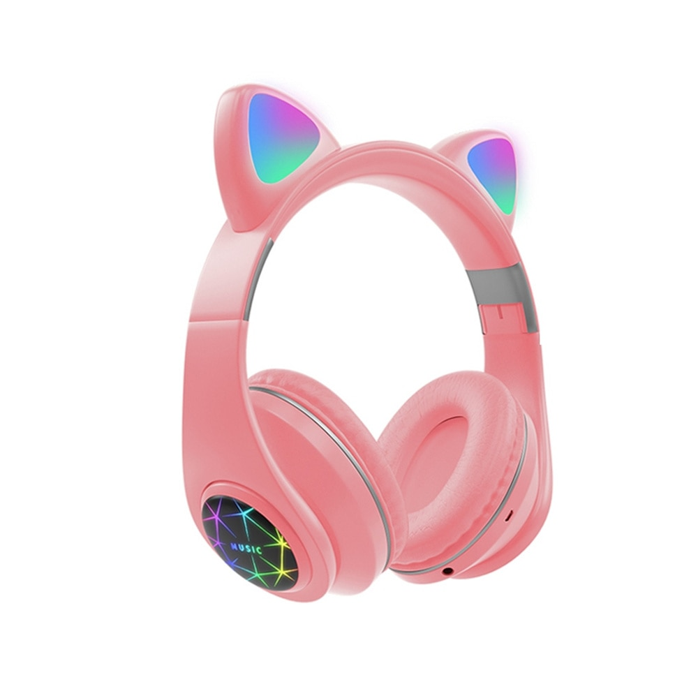 Auriculares Bluetooth con micrófono para niñas, Cascos de música para teléfono Huawei,...