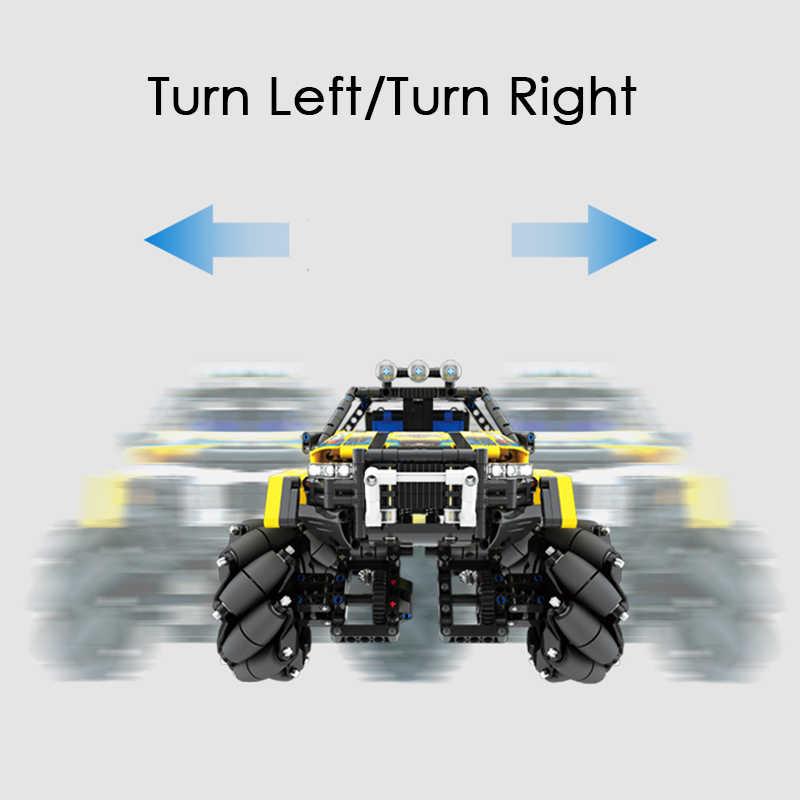 City 1030pcs Remote Control Drift Off Road Vehicle Building Blocks Technic Rc Car Bricks Mecanum Wheels Children Toys Kids Gifts Blocks Aliexpress