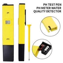 LCD numérique 0.1-14 Portable numérique PH mètre testeur qualité de leau testeur mètre pour Aquarium piscine eau qualité laboratoire PH moniteur
