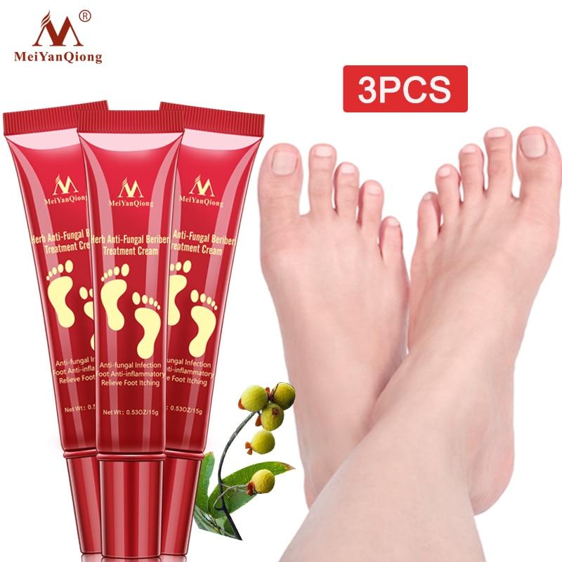 3PCS Herbal Foot Treatment Anti Fungal Infection Onychomycosis Paronychia Toe Fungus Treatment Remov