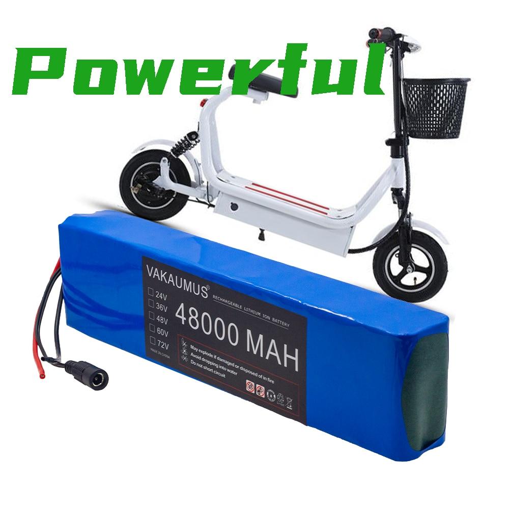 7S4P 24 فولت 48Ah ل ليثيوم أيون بطارية حزمة 29.4 فولت 48000MAH المدمج في BMS دراجة كهربائية الدراجة الهوائية الأحادية العجلة سكوتر كرسي متحرك المحرك + شاح...