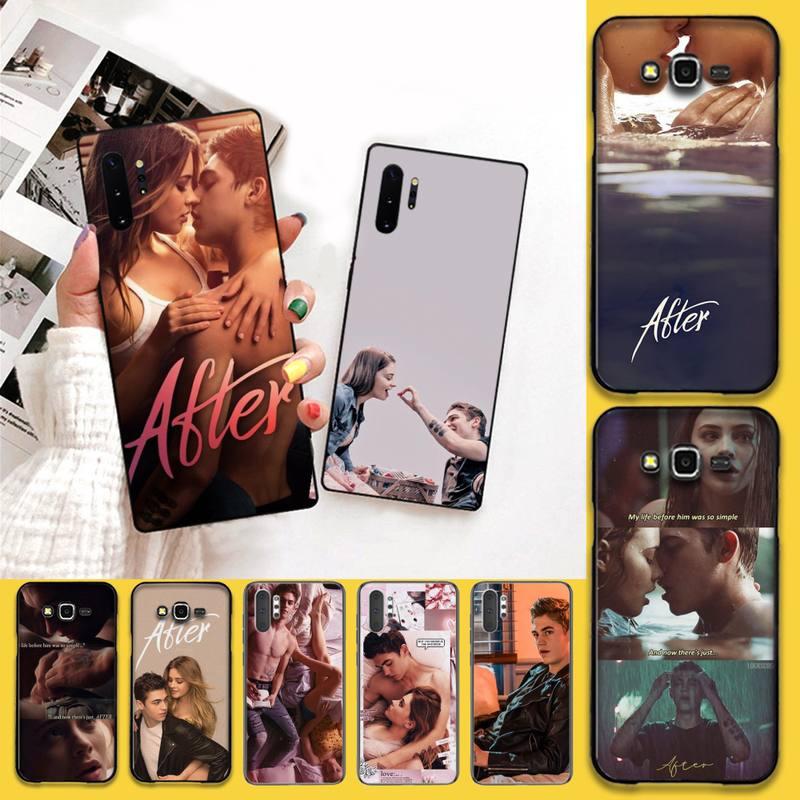 PENGHUWAN After Movie Soft black Phone Case For Samsung Galaxy J7 J8 J6 Plus 2018 Prime Note 7 8 9 1