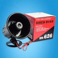 New Arrivals Durable 12V 110db Black Wired Anti-theft High Decibel Burglar Alarm Sound Horn Loudspeaker for Home Security