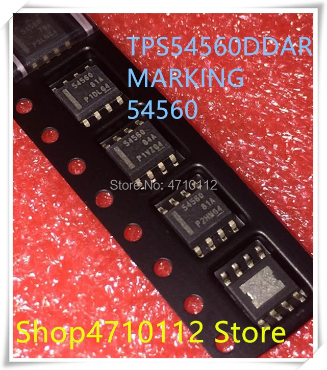 NOVA 10 pçs/lote TPS54560DDAR TPS54560 MARCAÇÃO 54560 HSOP-8 IC