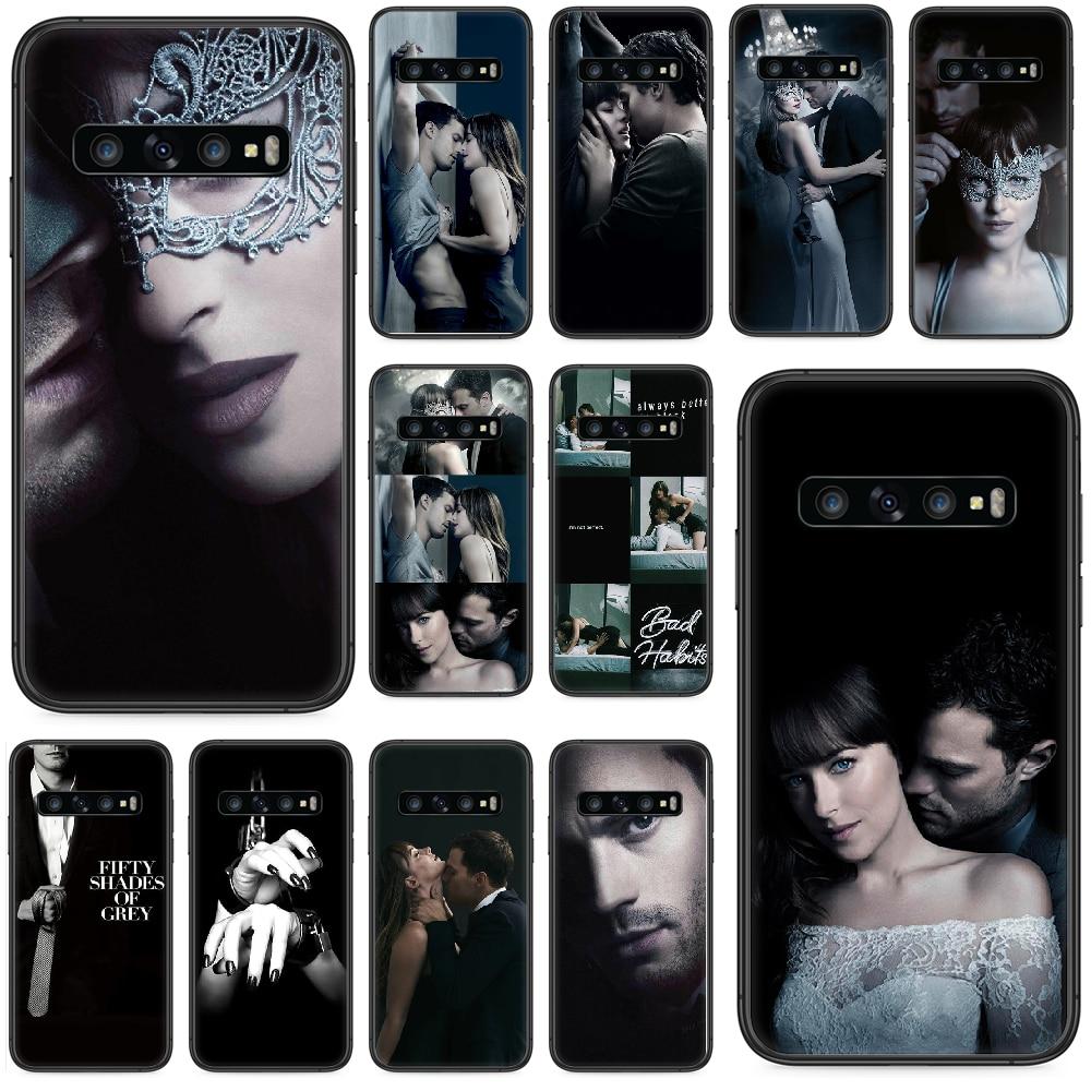 Fifty Shades of Grey Darker Freed Phone case For Samsung Galaxy  S 10 20 3 4 5 6 7 8 9 Plus E Lite U