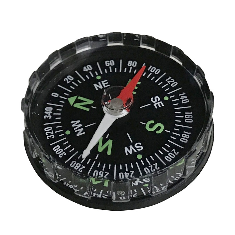1PC Portable Mini Precise Compass Practical Guider for Camping Hiking North Navigation Survival Button Design Compass