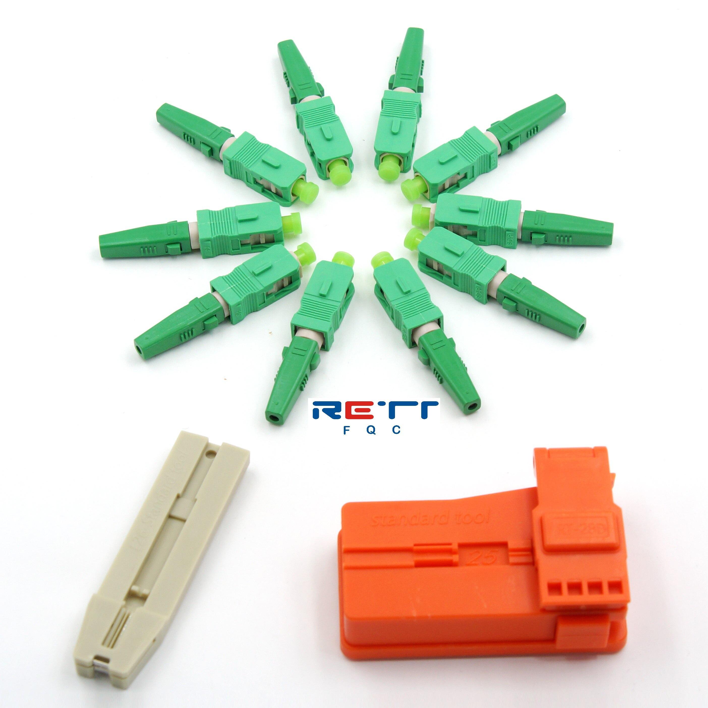 SC UPC волоконно-оптические быстроразъемные соединители, одномодовые SC APC Волоконно-оптические быстроразъемные адаптеры для оптоволоконного...